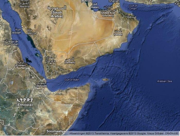 Yemen on Google Maps