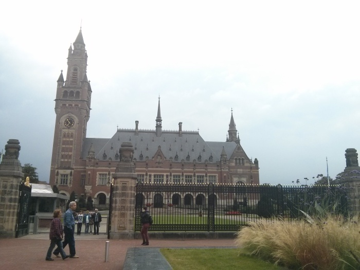 The Peace Palace - picture made by me, August 2013