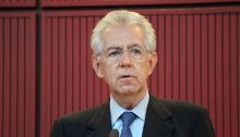 Mario Monti - former PM of Italy established a transitional government of technocrats