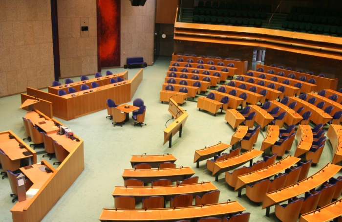 House of Representatives of the Netherlands in The Hague