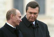 President Viktor Yanukovich (Ukraine) and President Vladimir Putin (Russia)